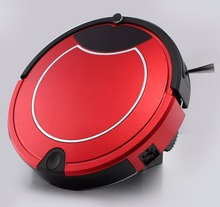 Automatic vacuum cleaner robot with 600 ml dustbin capacity
