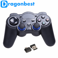 2017 Newest 2.4G RF Wireless Gamepad a8 android wireless bluetooth gamepad controller with great price Joystick & game control