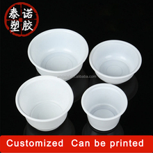 cheap price 650ml disposable plastic food microwave container