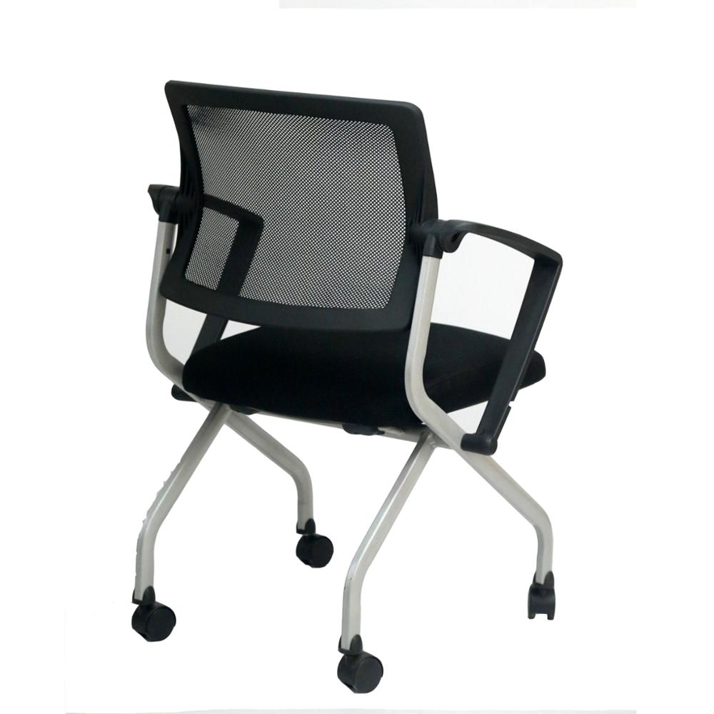 Modern Folding Training Chair Foldable Office Chair with Caster