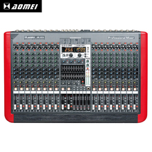 Selling The World AM-GX16 16 Channel USB Audio Digital Music Mixer Console 16 Channel