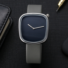 Top Brand Mens Watches Luxury TOMI Fashion Business Watch Square Leather Quartz WristWatches Dress Sport Watches