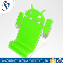 Customized Acrylic L Shape Cellphone Display Acrylic Mobile Phone Stand
