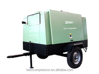 GMD portable qualified diesel screw air compressor