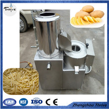 Low price automatic potato and cassave peeling and slicing all-in-one machine
