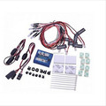 New Version 12 LED Flashing Light System Lighting Kit for RC Cars Helicopter Plane Quadcopter