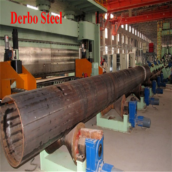 High Quality DB - Welded Pipe. Main steel grade: API 5L GR (A/B),X42,X46,X52,X56,X60,X65,X70,X80,X100 ASTM A53 GR A/B, ASTM A 17