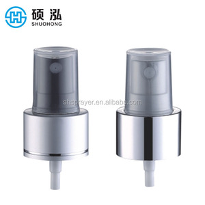 24mm High Quality Wholesale Aluminum Plastic Pump Fine Mist Sprayers Cosmetic Packaging