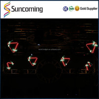 Professional RGB Colorful 3D Magic Cube Led Stage Lighting Fixtures