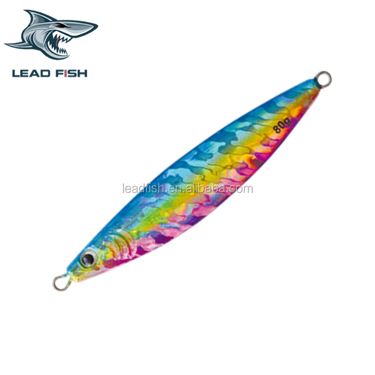 LF02B Leadfish Fishing Lure Metal Jig Chrome Silver Gold! 65g/80g/100g/150g/210g/ metal jigging lures