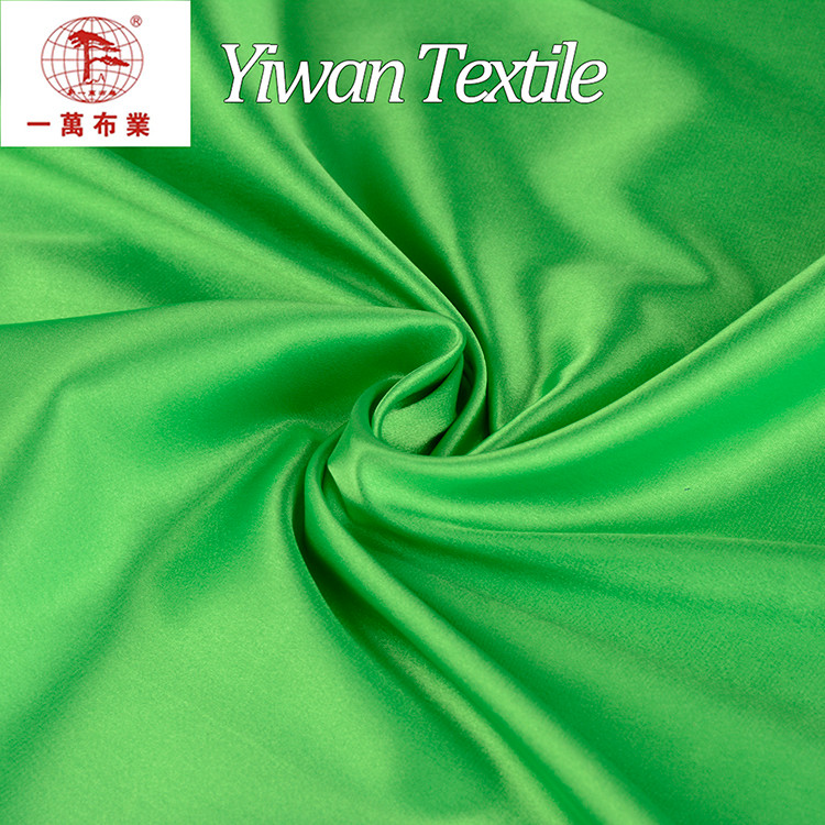 China Golden Supplier colorful stretch satin fabric for pajamas In Keqiao