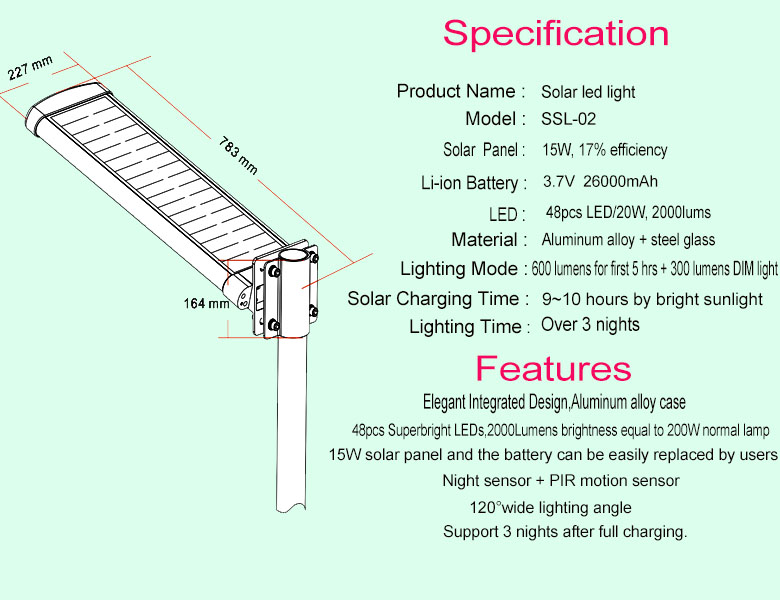 2017 New Product Hot Sale 90W new model design led solar street light prices,all in one solar street light