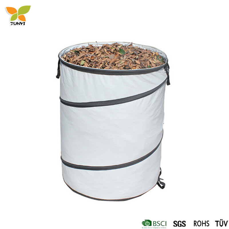 Folding 90L Pop up Garden leaf Bag for collection