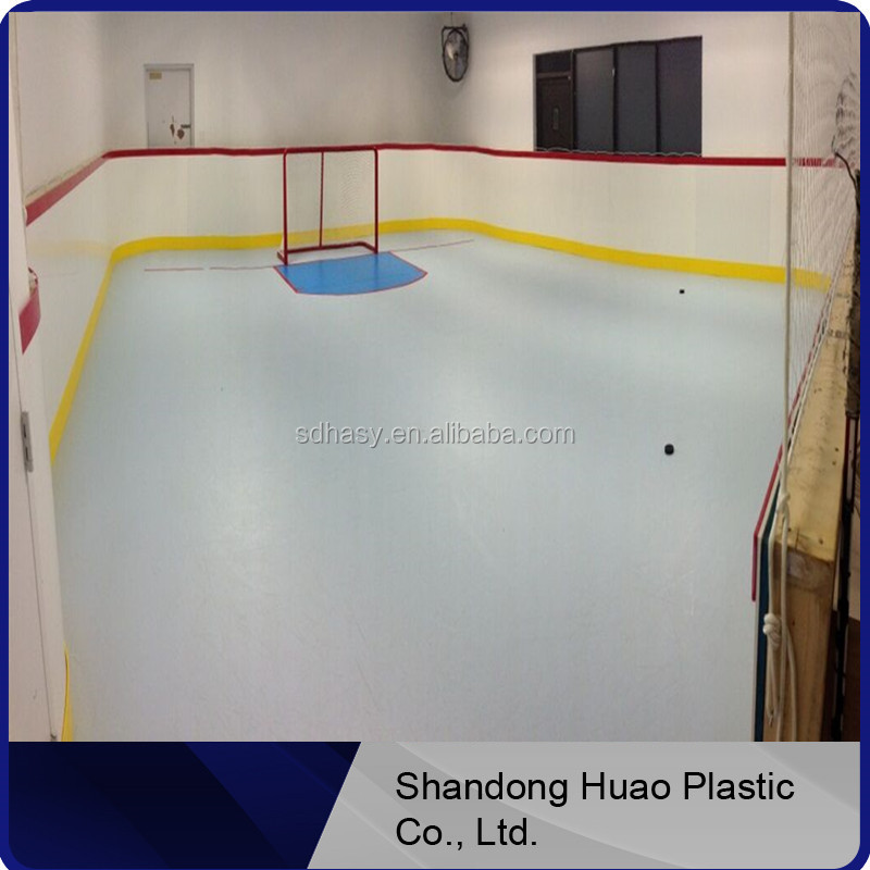 HUAO HDPE how does synthetic ice work/ice rink in backyard/synthetic ice cost