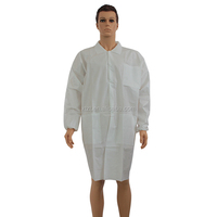 lab coat non woven breathable /laboratory cloth/Disposable Smocks