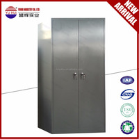 godrej style steel or iron wardrobe locker / OEM double door Godrej steel almirah design