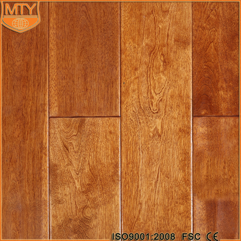 S-21 FSC Certificate Factory Birch Solid Wood Floor