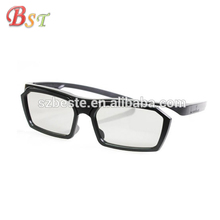 HOT! Good quality low price plastic circular polarized cinema 3d glasses