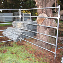 portable horse metal livestock farm fence panel