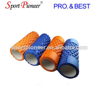 Message Hollow Solid Roller Hollow Core Pilates Foam Roller Grid Flex Foam Roller