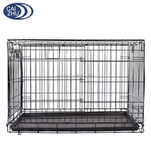 China supplier stainless steel double door wholesale dog house for sale