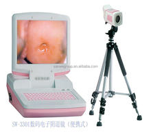 Sanwe CE Approved Portable Colposcope with 800,000 Pixels Sony Camera