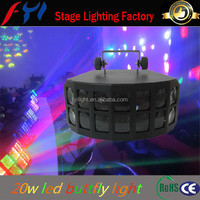 20w effect high power led diving bitterfly effect light