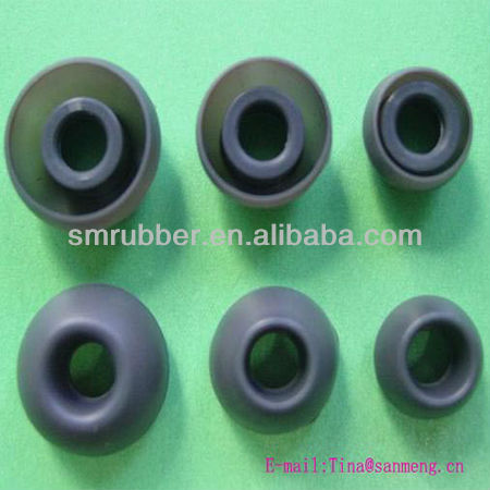 replacement silicone rubber earbud cap cover tip