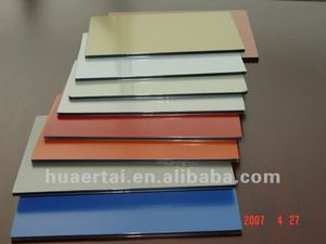 High quality ACP decorative aluminium composite plastic panel