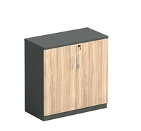 simple design office furniture stationary cabinet small size filing cabinet wooden