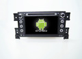 Quad core!car dvd with mirror link/DVR/TPMS/OBD2 for 7inch touch screen quad core 4.4 Android system Suzuki Grand Vitara
