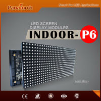 PanaTorch Directly Supply SMD Indoor Module LED Display Screen top quality IP43 Waterproof P6 RGB