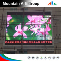 Commercial Advertising Screen Full Color P8 Outdoor Video Led Display