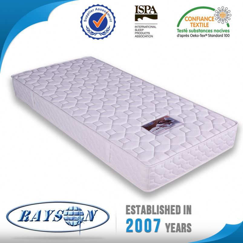 Elegant Quality Cheap Bed Comfortable Box Top Pocket Spring Mattress