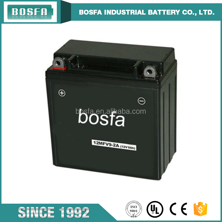maintenance free sealed lead acid battery 12v4ah motorcycle battery for scooters and motorcycles