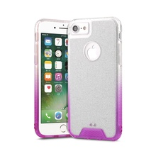 Gradient glitter powder crystal Gradient color mobile phone case for iphone 7