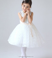 2016 Fashion Girls wedding party dresses,children frocks designs.girl party wear dress