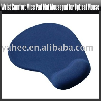 Wrist Styled Mousepad for Optical Mouse,YHA-PC098