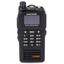 New launch Black Walkie Talkie Zastone ZT-9908 DPMR Digital Standard UHF 430-470MHz Handheld Two Way Radio