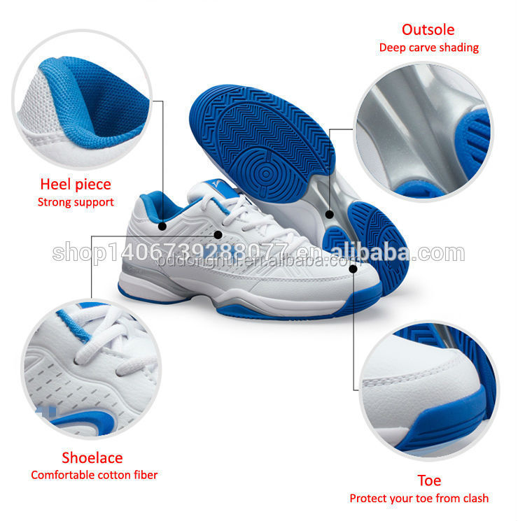 hot sale sports shoes white leather men tennis shoes
