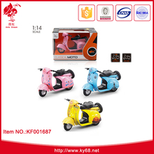 Promotional gift 1:14 scale mini metal car moto model toy