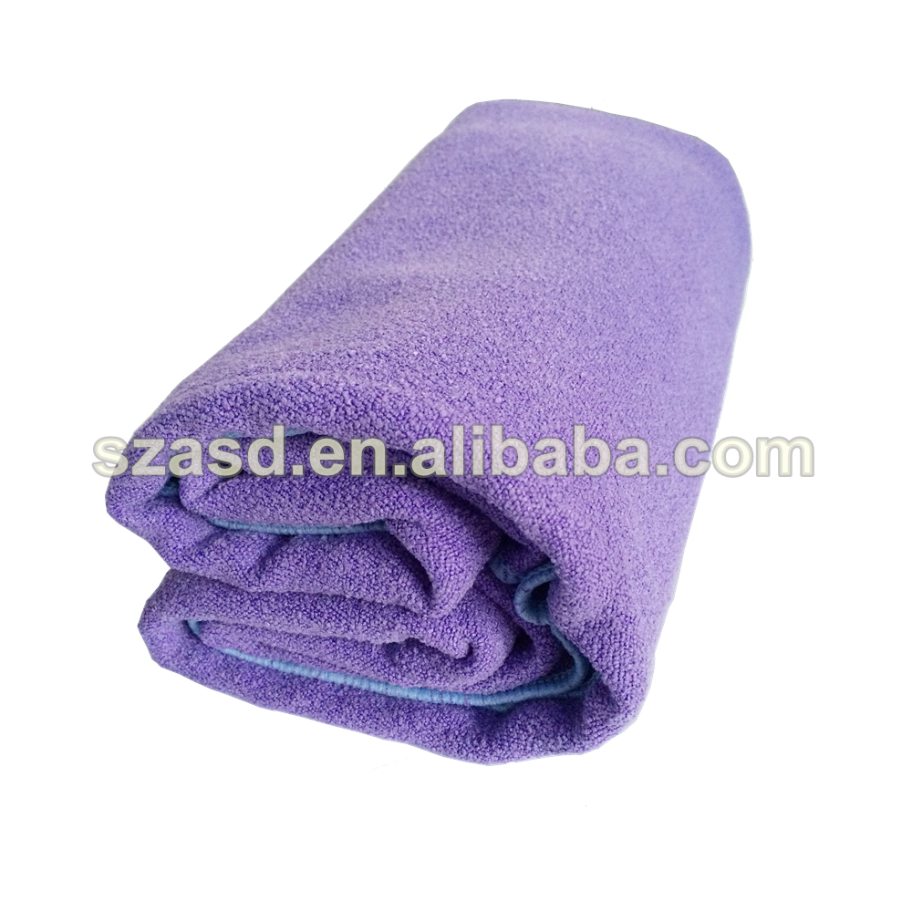 Microfiber Yoga Mat Towel, colorful yoga towel can be customized