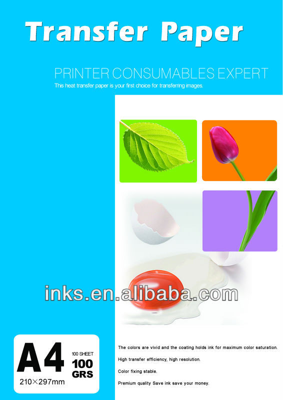 For Polyester Sportswear And Mug Transfer Dye Sublimation Heat Transfer Paper