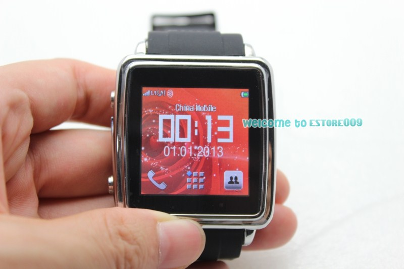 Mobile Cell Phone Watch Bluetooth Smartwatch Sync For Smartphone MP4 Camera