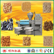 Mingyang brand high quality peanut sesame soybean essential oil distillation press machines price