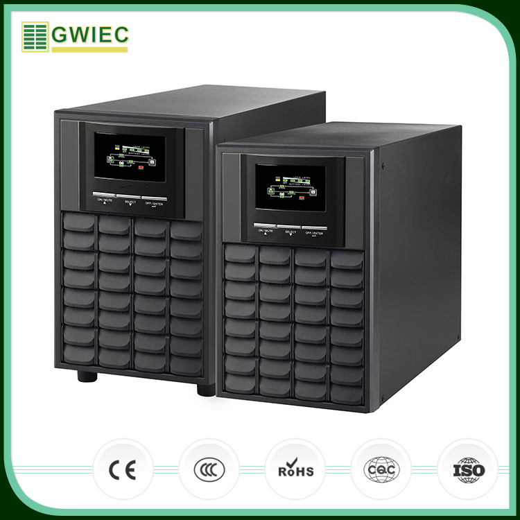 GWIEC China Online Selling Best Price Single Phase 220V 3Kva Ups Power Supply