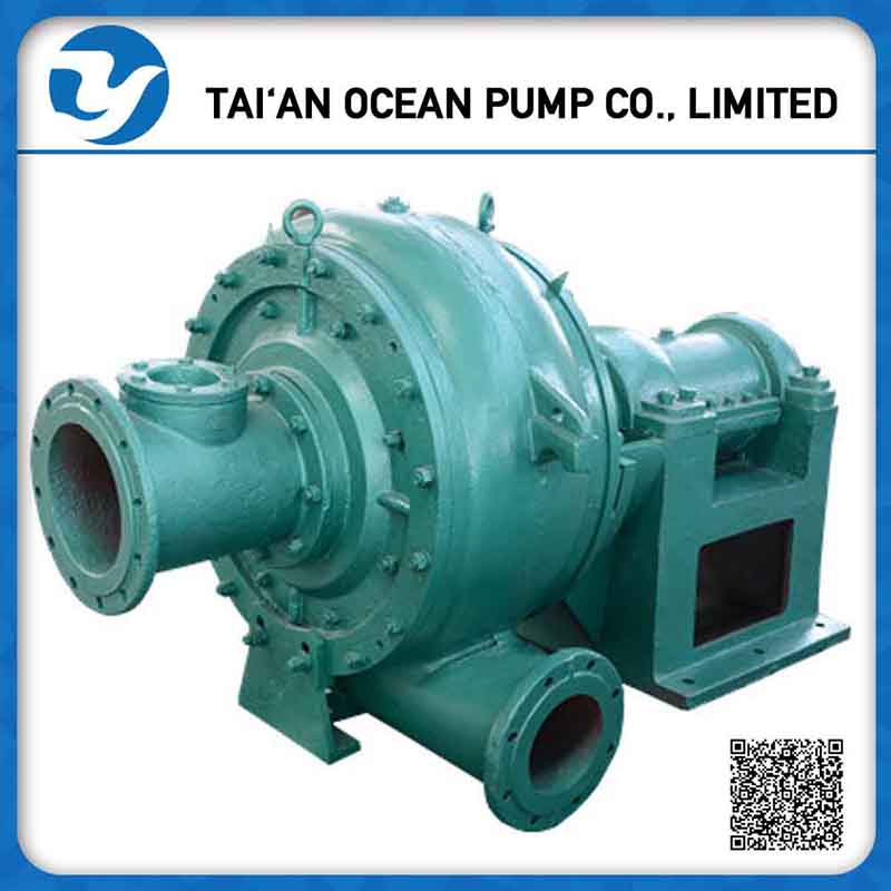 self priming Horizontal centrifugal sand pump for land and dredge
