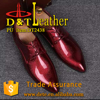 high glossy patent synthetic leather