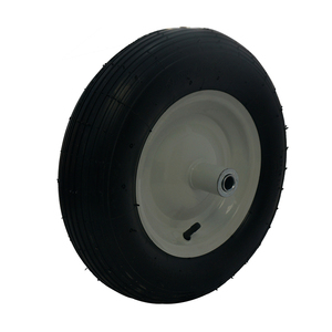 Good quality pneumatic rubber wheels factory