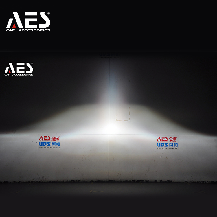 "AES high performance metal material 3"" size lens, car headlight bi-xenon He-5 HID projector lens"
